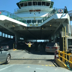 Into the Ferry.