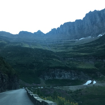 Going to the Sun Road.
