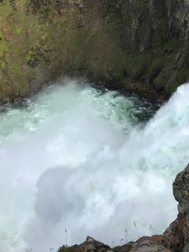 From the top of the Upper Falls.
