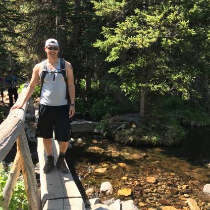 The Trail to Lake Haiyaha