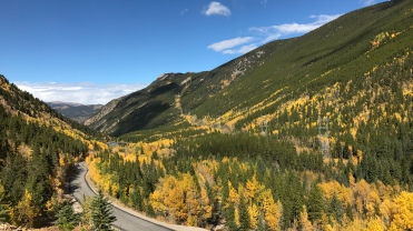 A northwards view of Guanella Pass